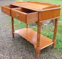 Cherry Wood Side or Writing Table by Younger